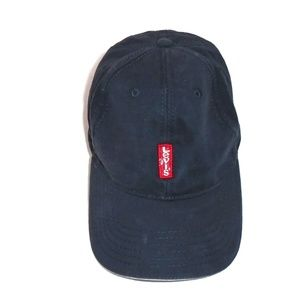Levi's Hat Blue Adjustable Embroidered Logo